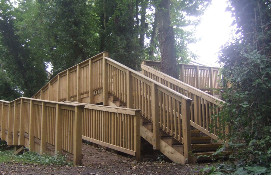 Commercial Decking Ramps | Softwood Decking